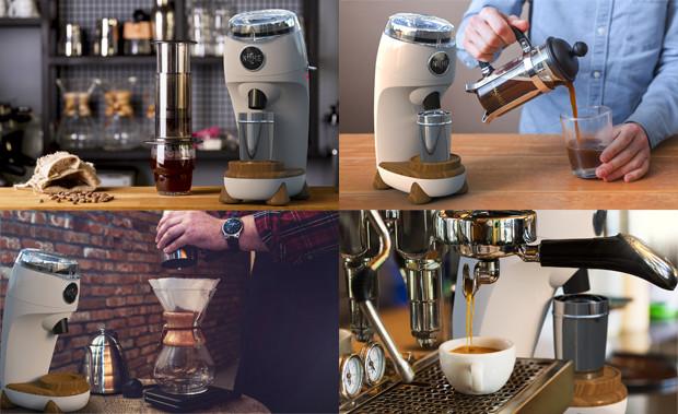 创意酷品:如何喝到最新鲜的咖啡?这款咖啡机可以搞定