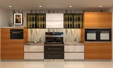 黄金装修季,森歌集成灶一键解决你家的开放式厨房