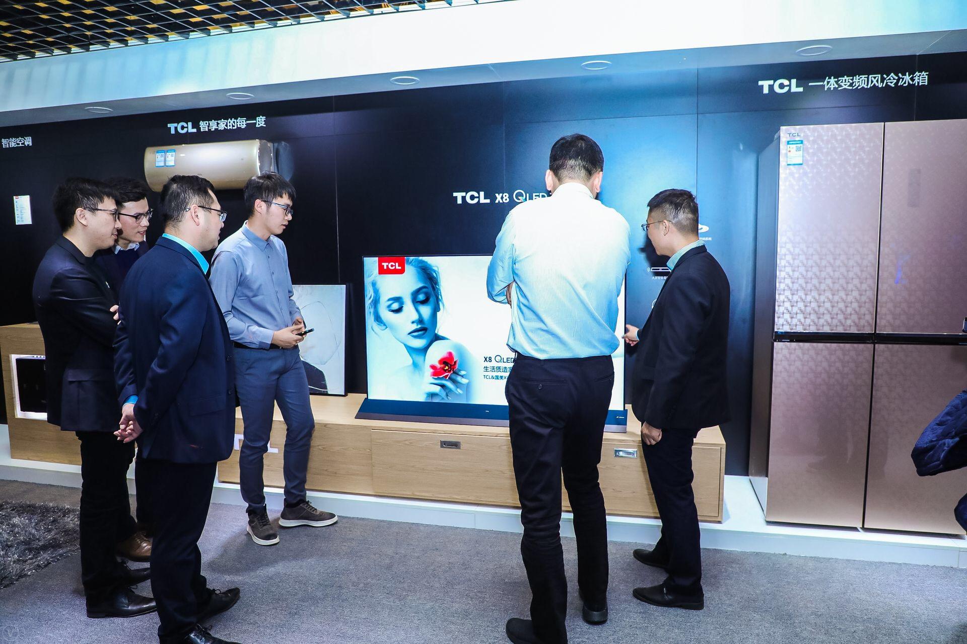 新精英人群客厅的新主角,TCL X8 QLED TV今日于国美首发