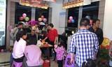 热烈祝贺森歌集成灶福建明溪县专卖店盛大开业