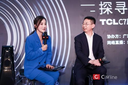 TCL在世界黑胶中心展示C7剧院电视的别样魔力