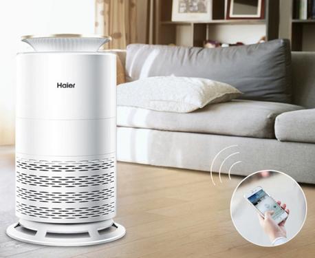 海尔空气净化器双11这厢有礼 零微科技倡导健康呼吸
