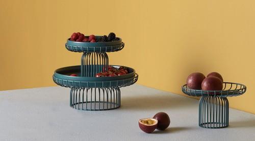 创意酷品:云笼果盘,精致家居里的精彩装饰