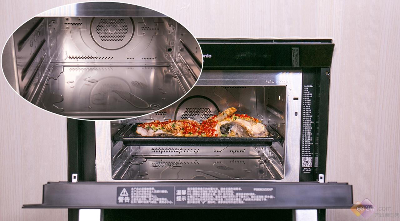 颜值与专业并举,松下蒸烤箱高温健康蒸树立行业新标杆