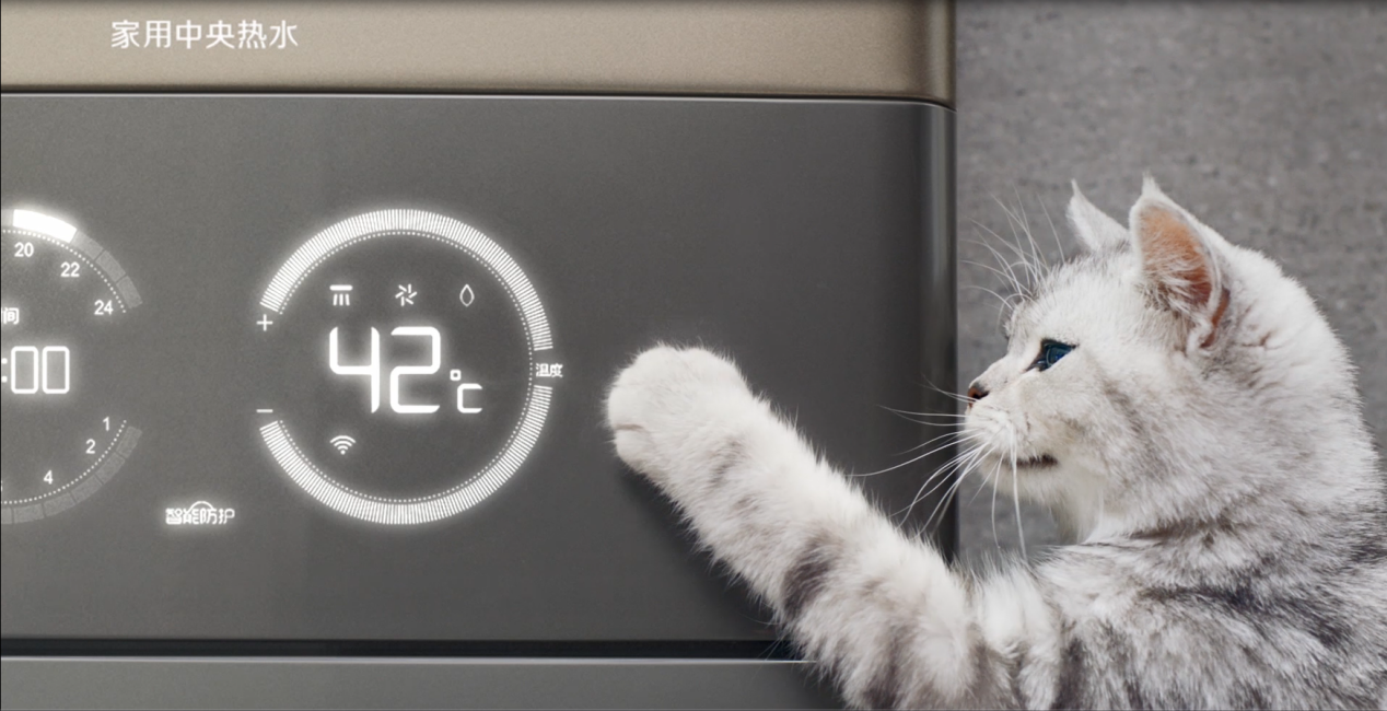 锋味热播万家乐全新产品TVC抢镜  被赞猫奴福音
