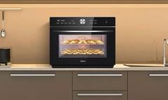 时尚而高雅,美的S5-L300E蒸烤一体机真机图赏