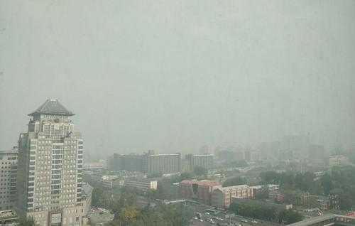 室外雾霾横行 志高负离子氧吧空调让你畅享清新好空气