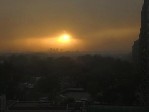 26日白天,北京市空气质量将达五级重度污染?