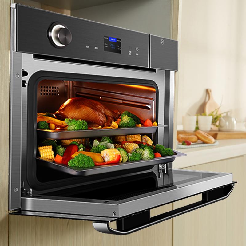 小白如何秒变大厨?华帝电商超级爆款蒸烤一体机推荐