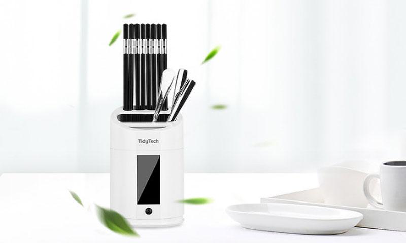 这东西靠谱不谱:紫外线杀菌筷子筒有用吗?