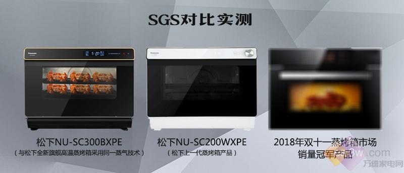 SGS对比实测:松下全新旗舰高温蒸烤箱让食材释放更多营养与美味