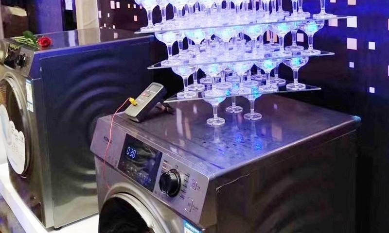 20周年粉丝狂欢节 康佳高端智能洗衣机高调亮相
