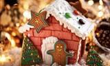 电烤箱食谱|幸福生活从圣诞姜饼屋开始,从方太烤箱开始