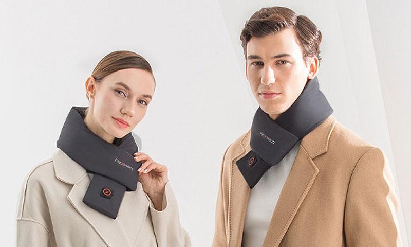 冬天有了这款智能围脖,穿衣有型又保暖
