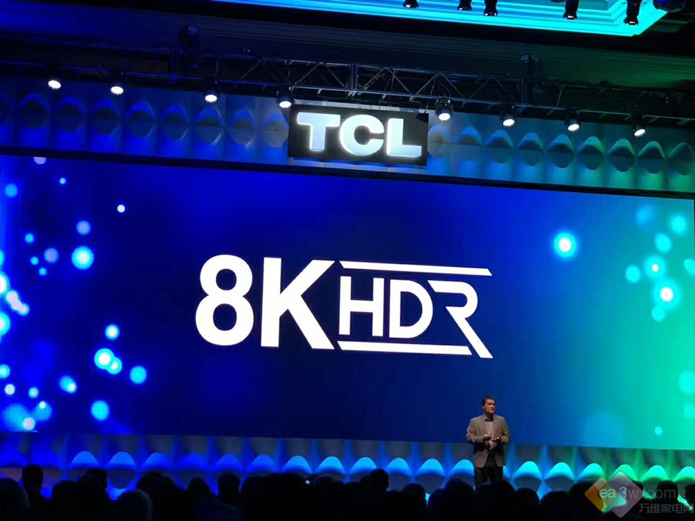 CES 2019:TCL发布X10 QLED 8K澳门博彩官网,并组建8K协会