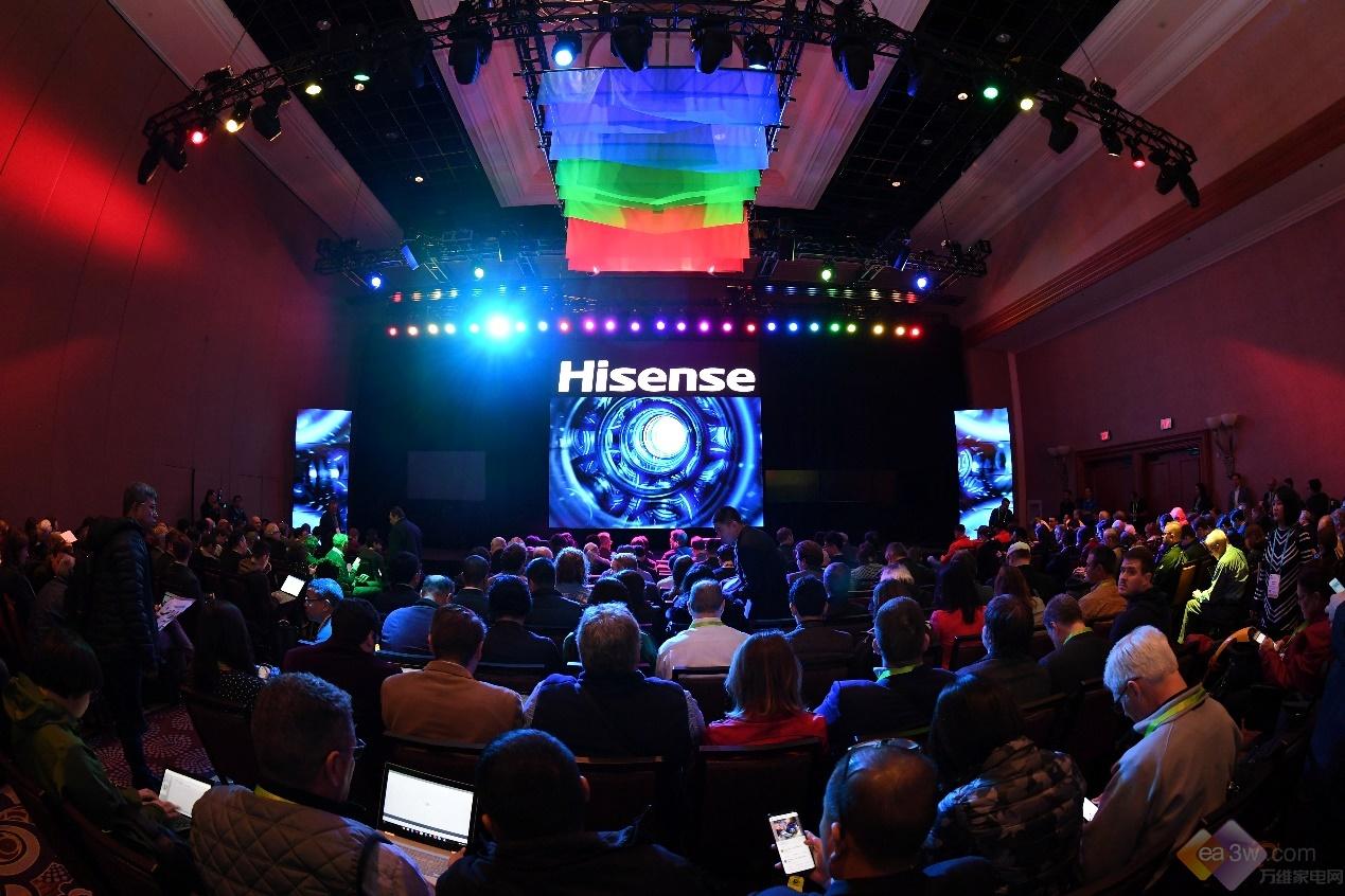 海信2019 CES正式推出70吋100吋三色激光电视