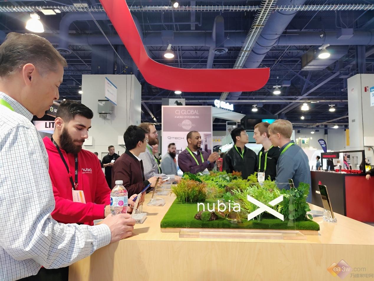 努比亚重磅亮相CES2019 拥抱智慧物联时代