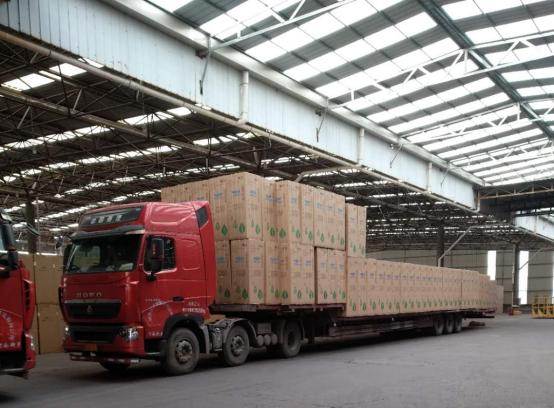 新飞新年开门红 首批外贸出口订单生产成功下线