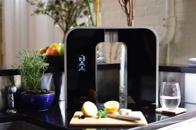 创意酷品:可以将自来水变成饮料的净化机,它到底有何魔力?