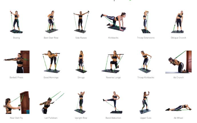"""可折叠健身""""神器"""",可模拟100多种健身动作占地却不到1㎡"""