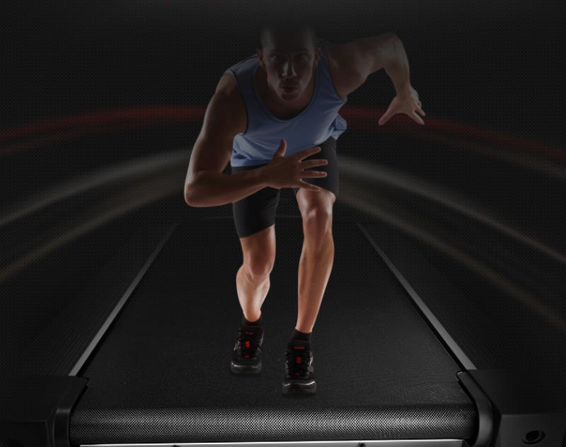 伊尚跑步机E5畅享家中极致奔跑,0元购买助力健康!