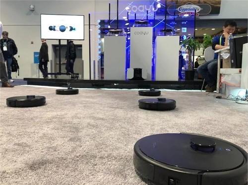 聚焦美国CES展,科语小黑匣扫地机器人用跳舞诠释黑科技