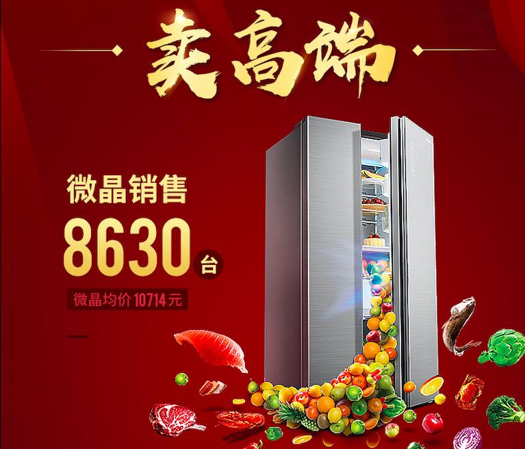 2019元春促销首传捷报 美的微晶冰箱销量再冲新高