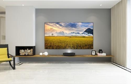 旧电视也能换购激光电视,你家客厅该焕新了