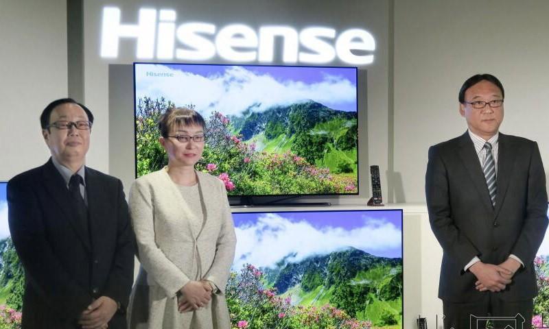 海信OLED电视呼之欲出,日本打响了第一炮