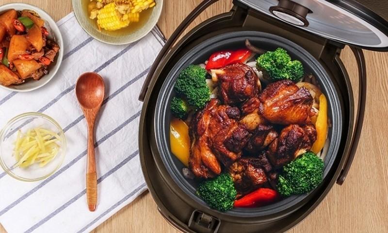 精致小饭煲,百元电饭煲也能给你香喷喷的米饭