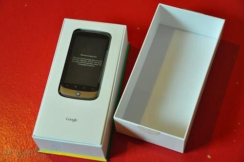秒杀iPhone 超薄谷歌Nexus One开箱图赏