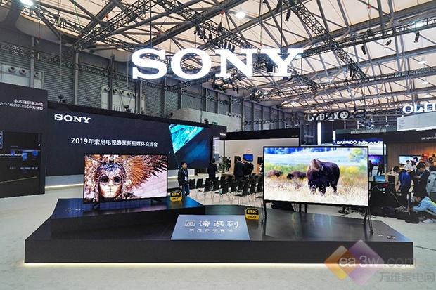 索尼画谛电视新品中国首秀,全阵容影音娱乐产品重磅亮相2019 AWE展会