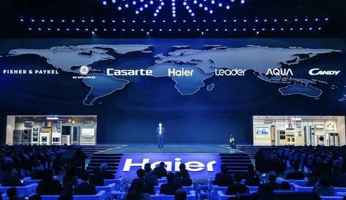 海尔发布全球智慧家庭套系 7大品牌共创生态品牌引领