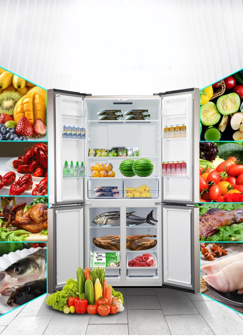 新鲜食材,想吃就有,但冰箱你会选么?