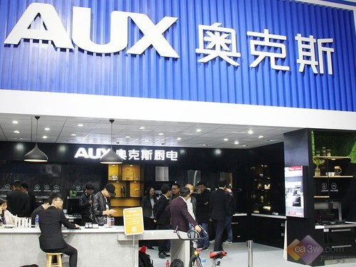AWE 2019:奥克斯厨电展台图赏