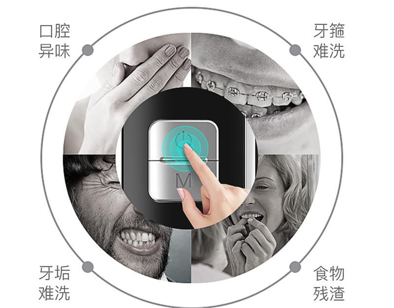 有了XNUO心诺X628便携式冲牙器,让你轻松恢复健康口腔