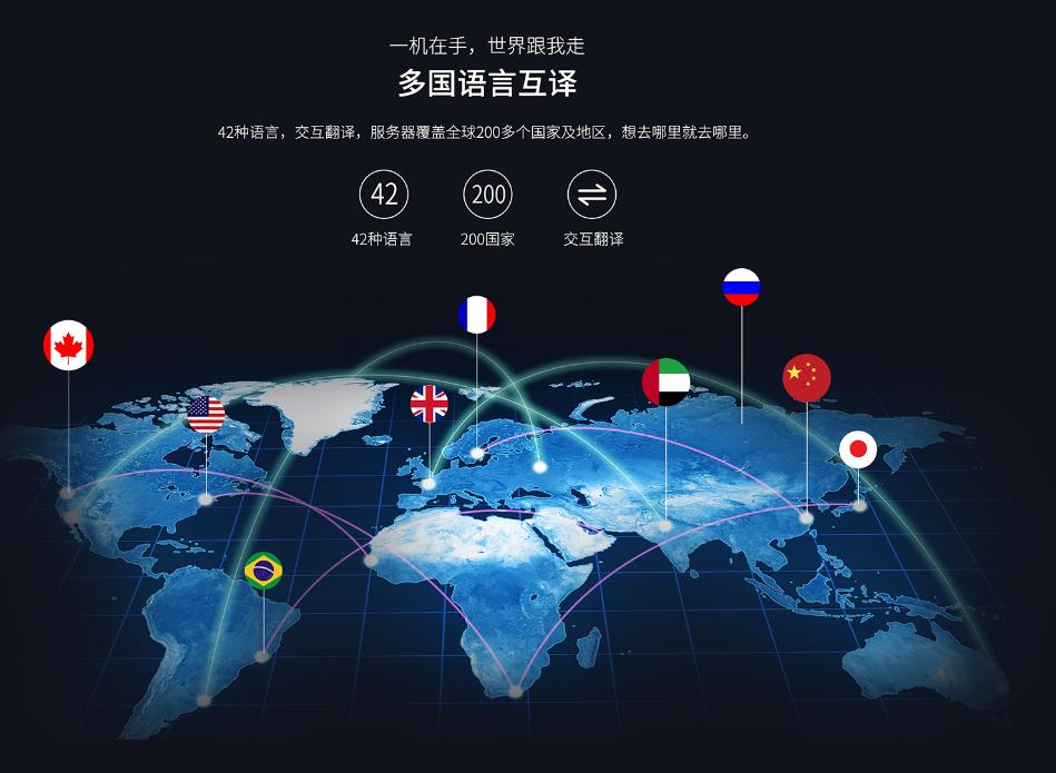 出国商务旅行说走就走,TCL智能翻译机你值得拥有