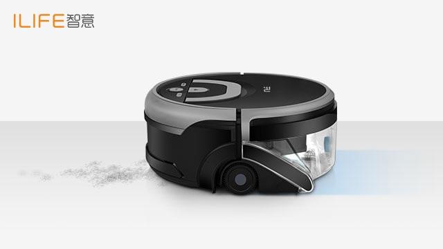 洁净更进一步——ILIFE智意W400洗地机器人