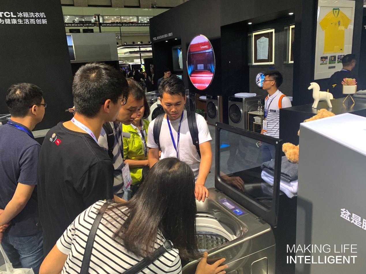 TCL X10洗衣机突破洗涤范围极限诠释科技与艺术生活的不期而遇