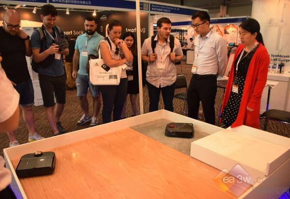 浦桑尼克智能家居再次亮相2019环球电子展