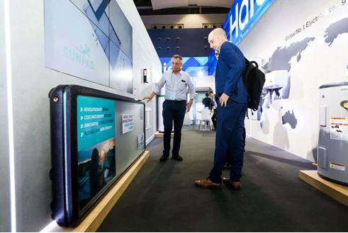 广交会:内地制造热水器遍全球 主流卖场内地牌仅海尔