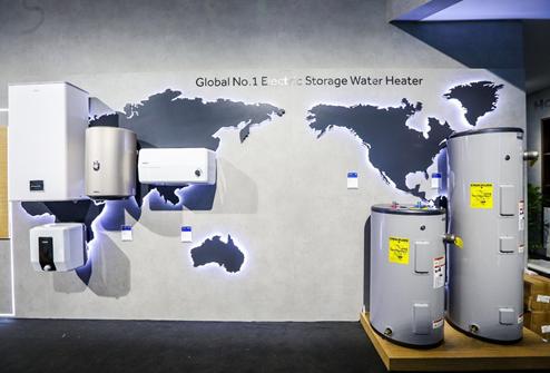 广交会:中国制造热水器遍全球 主流卖场中国牌仅海尔