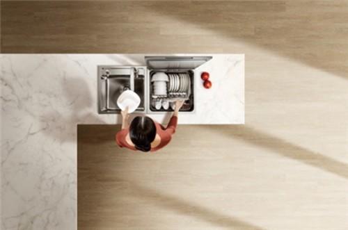 方太水槽洗碗机引发厨房健康理念大升级
