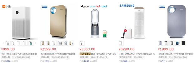 看看大家都买的啥?某电商家电热卖榜你贡献了么?