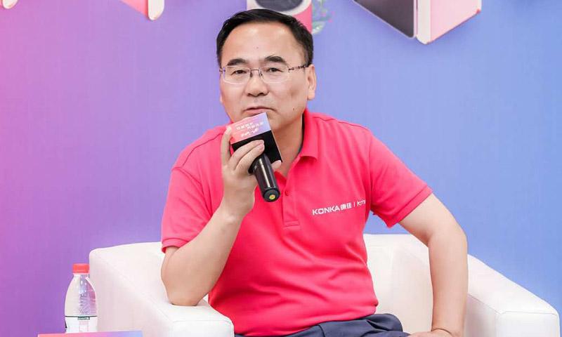 """康佳张中俊:Kmini引领个性家电消费""""小时代"""",为家""""赋""""能"""