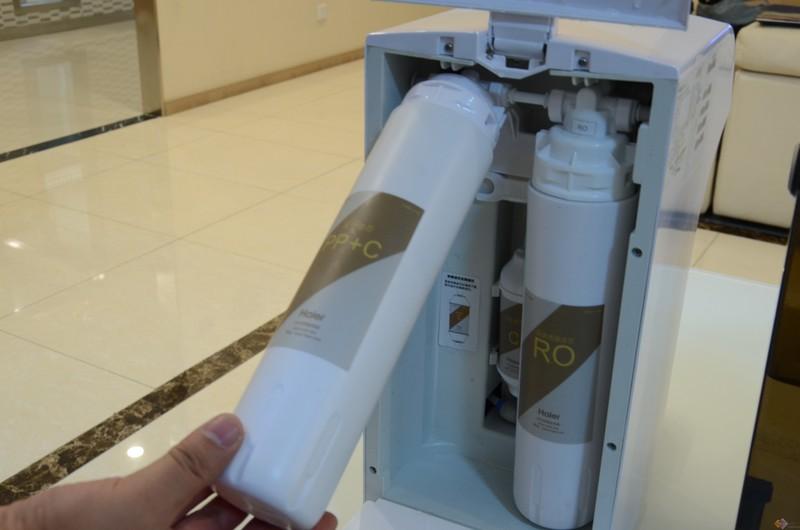 可定制的健康水  海尔暖暖·水魔方台式免安装净水机入手实录