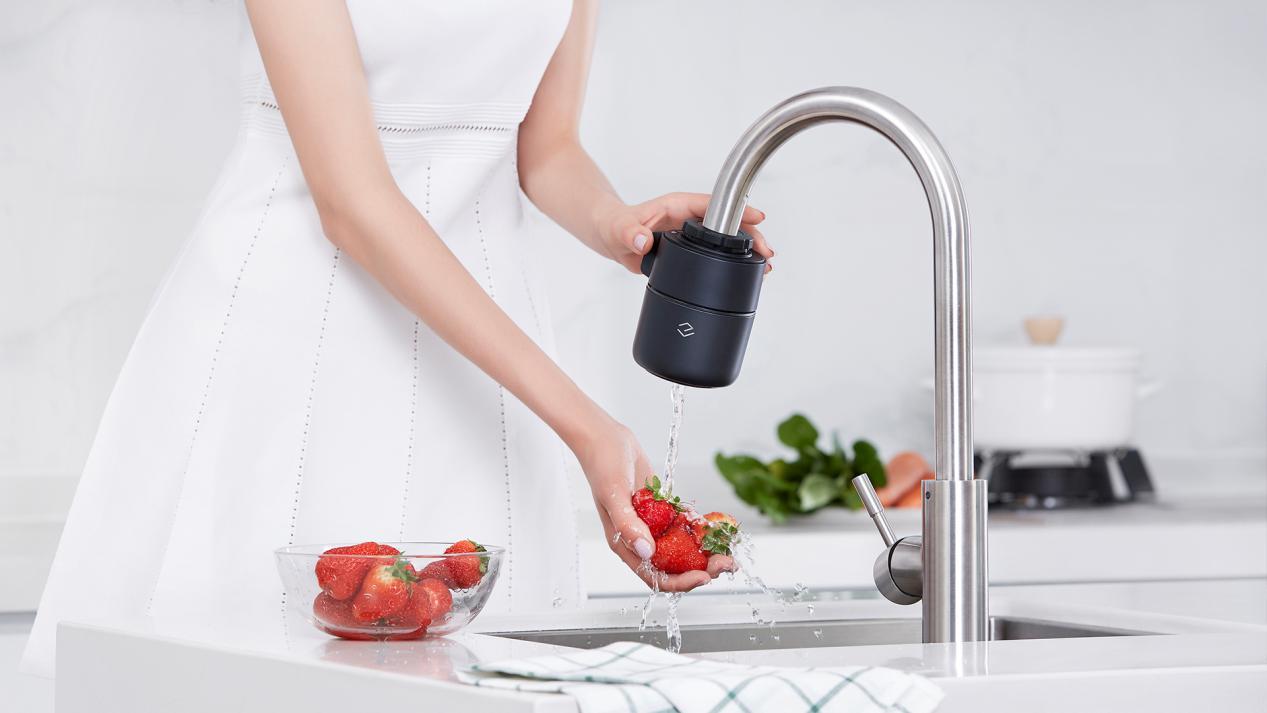 众筹价299元 小米有品上线可监测水质的龙头净水器