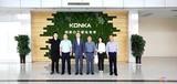 苏宁易购冰洗公司总裁徐仲到访康佳白电事业部,双方推动创新融合