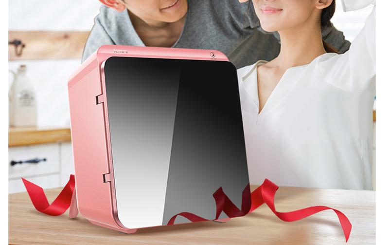 冻龄魔法盒专为化妆品收纳的小冰箱,让美丽长久保鲜!