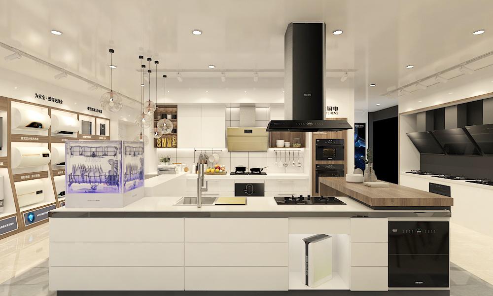 樱雪AI智能互联厨房正式上线与消费者见面,颜值与科技征服众多体验者